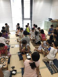 関西棋院こども囲碁道場平成30年夏期講習会